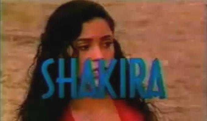Mira el video de Shakira como protagonista de una telenovela