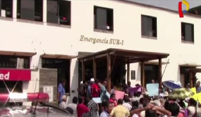 Surquillo: suspenden desalojo de Escuadrón de Emergencia Sur