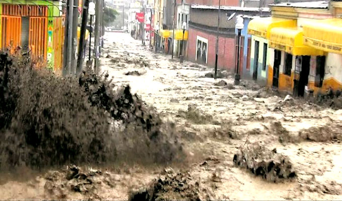 COEN: 85 muertos y más de 11 mil damnificados por desastres en Perú
