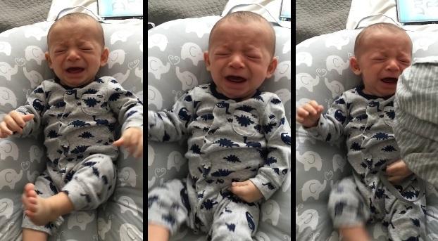 Este truco para calmar el llanto de un bebé está triunfando en las redes sociales
