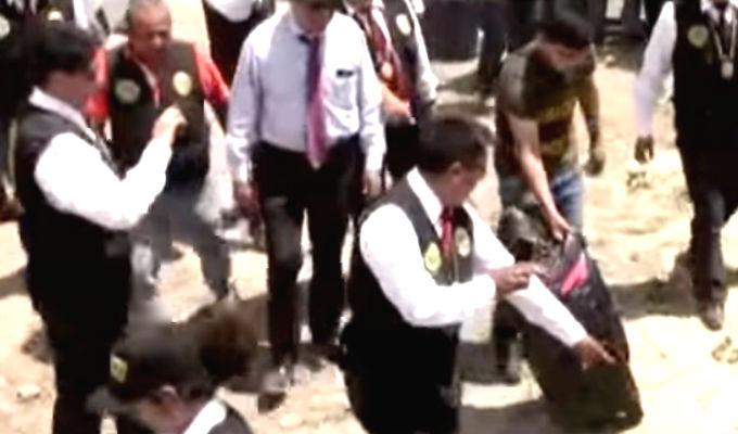José Yactayo: segundo día de reconstrucción se realizó en Huaura