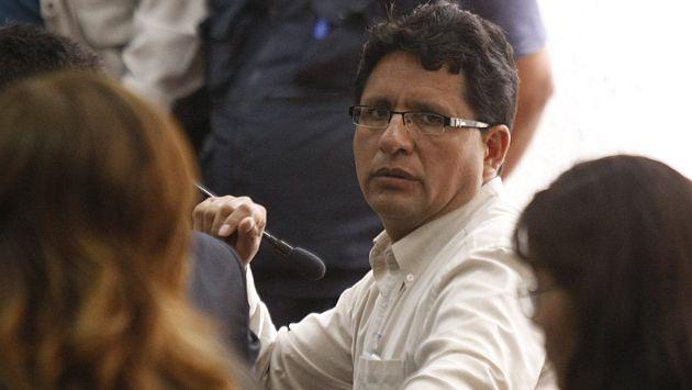 Exgobernador de Pasco fue recapturado para cumplir orden de prisión preventiva