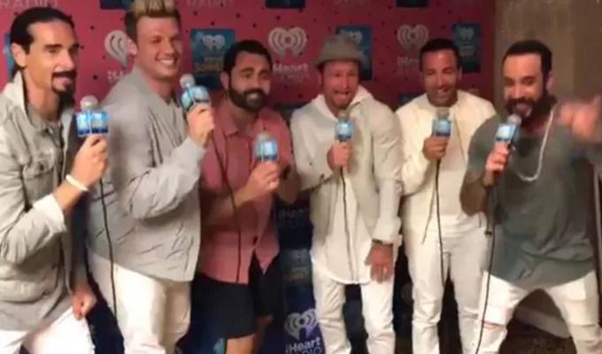 """Los Backstreet Boys también versionan el tema musical """"Despacito"""""""