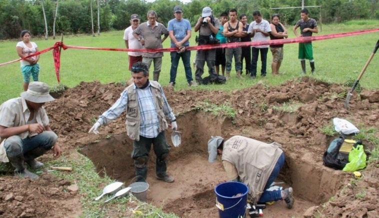 Caso Madre Mía: Fiscalía exhumó restos de presunta víctima en Yanajanca