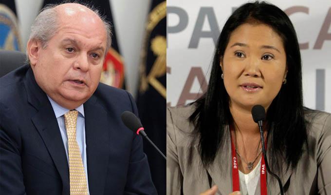 Acusan a Keiko Fujimori de causar inestabilidad política en el gobierno