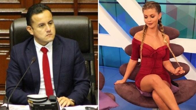 Brunella Horna y Richard Acuña se pronuncian tras ampay en discoteca