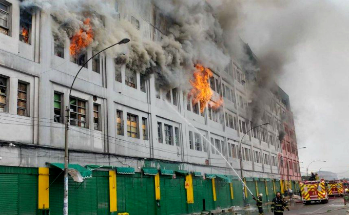 Video revela cómo se originó el incendio en Las Malvinas