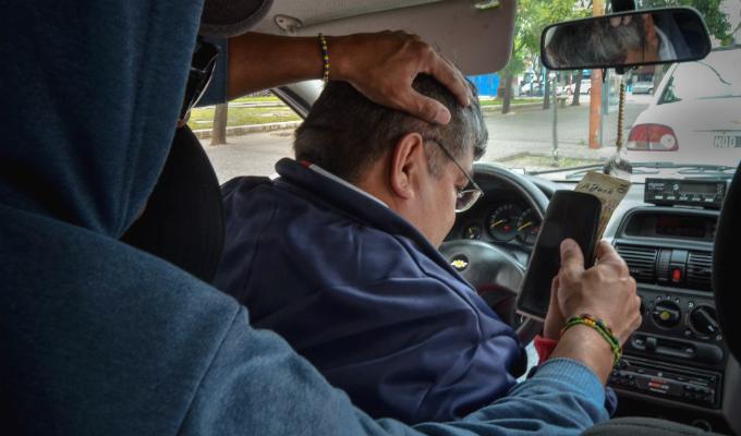 "Surquillo: capturan a delincuentes que robaban a taxistas de ""Uber"""