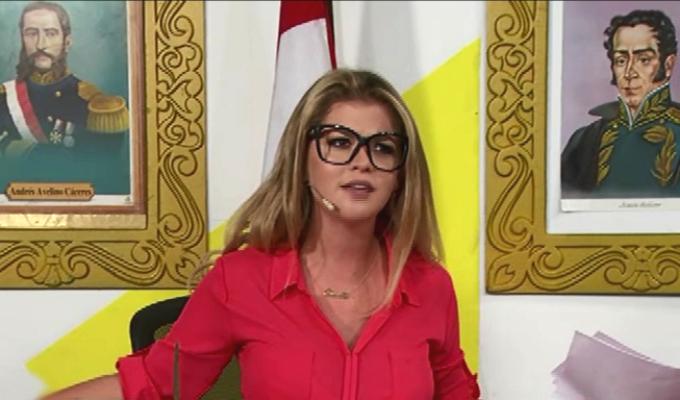 Brunella Horna confiesa su deseo por llegar al Congreso