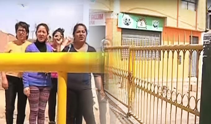San Martín de Porres: vecinos enfrentados por instalación de rejas y tranqueras