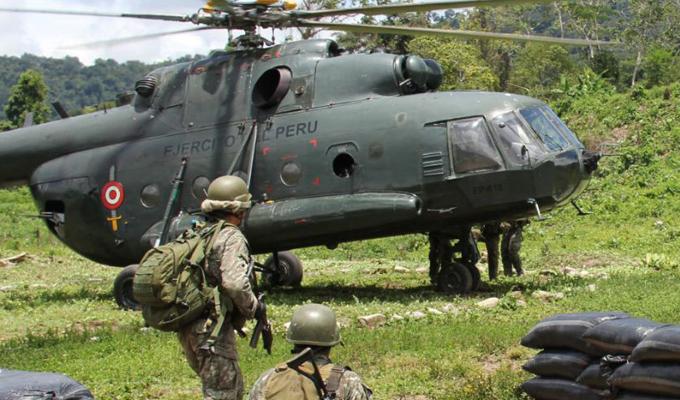Amazonas: dos muertos tras caída de helicóptero del Ejército