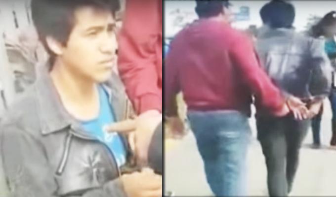 Los Olivos: capturan a sujeto que vendía droga cerca de universidad