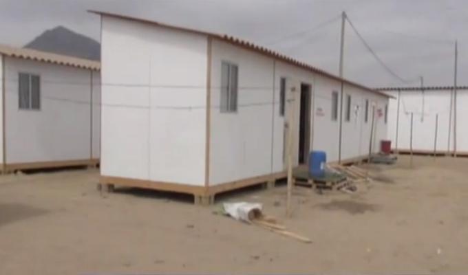 Cuestionan módulos de vivienda entregados a damnificados por El Niño Costero