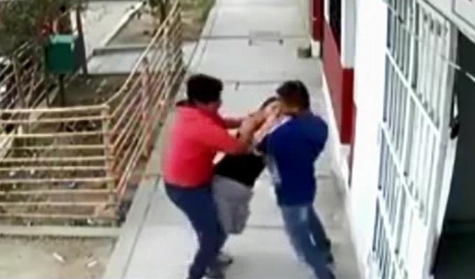 Chiclayo: se registró violento asalto a una mujer en vía pública