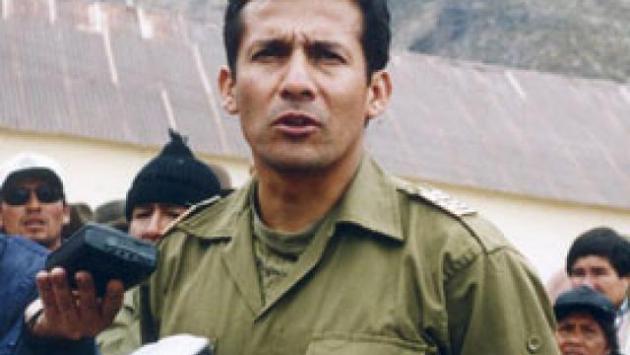 Piden que Ollanta Humala sea investigado por atrocidades en conflicto armado