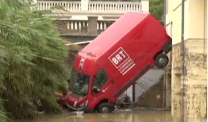 Italia: se registraron seis muertos y dos desaparecidos tras fuertes lluvias