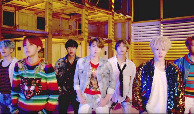 BTS gana primer premio por 'DNA' en The Show de MTV