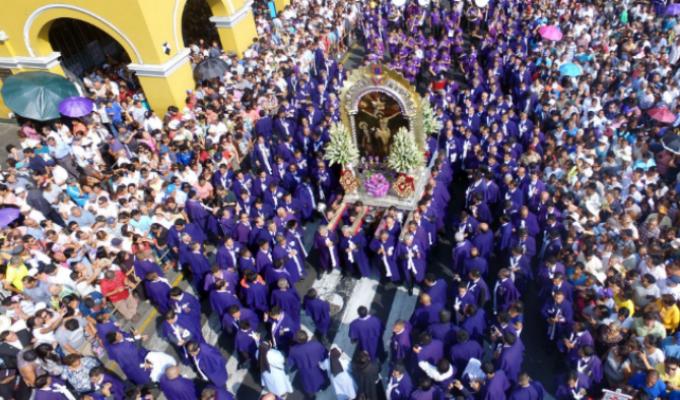 Este 7 de octubre se realizará la primera salida procesional del Señor de los Milagros