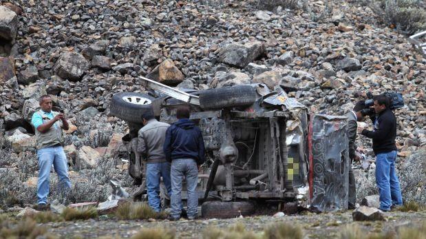 Tragedia en Andahuaylas: 10 personas mueren tras despiste de vehículo