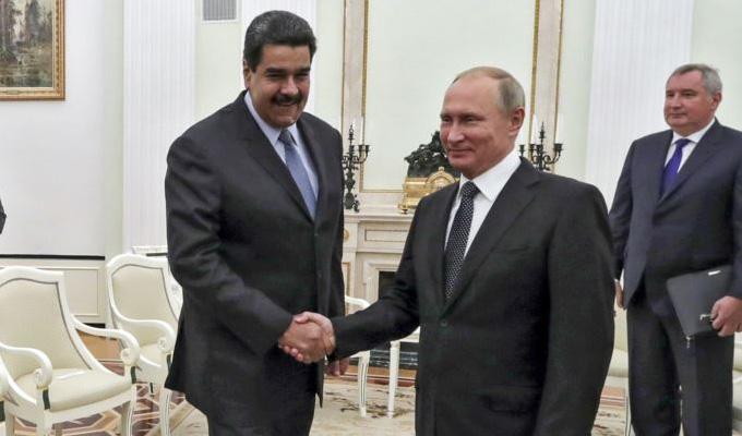 Moscú: Nicolás Maduro se reúne con Vladimir Putin