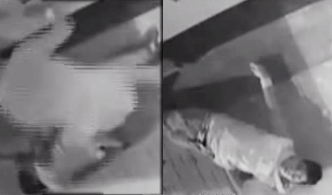 Impactantes imágenes: En Juliaca ladrones asesinan a golpes a joven para robarle