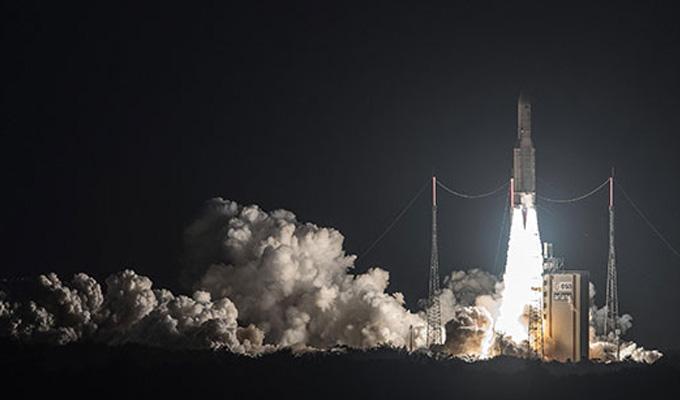 Venezuela lanzó con éxito su tercer satélite al espacio