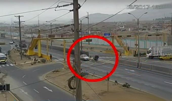 Ancón: vecinos preocupados por constantes accidentes vehiculares