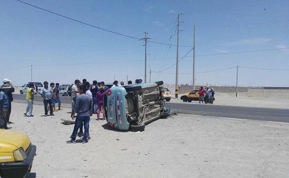 Despiste de camión deja un muerto en la Panamericana Sur