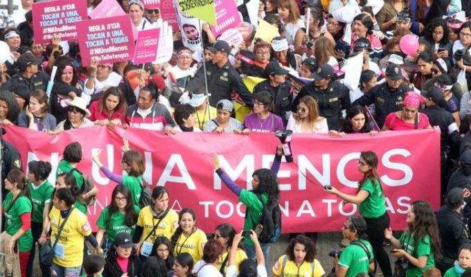Ni una menos: El Perú marcha nuevamente ante la violencia contra la mujer