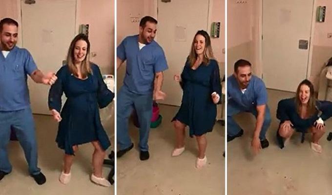 Conozca las efectivas rutinas de baile antes de dar a luz