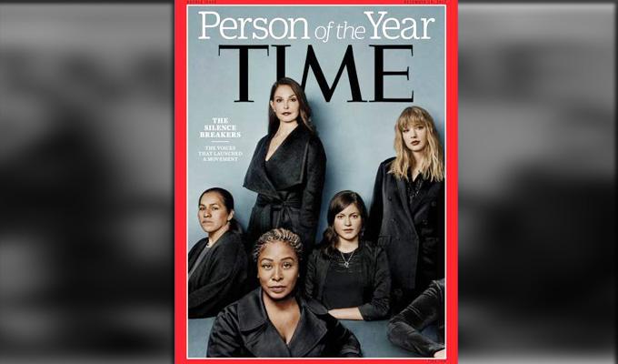 Revista Time reconoce como 'persona del año' a mujeres que levantaron su voz contra el acoso