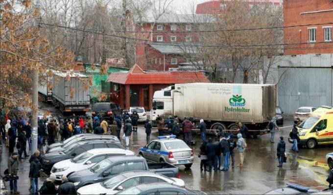 Rusia: un muerto tras tiroteo en una fábrica de dulces