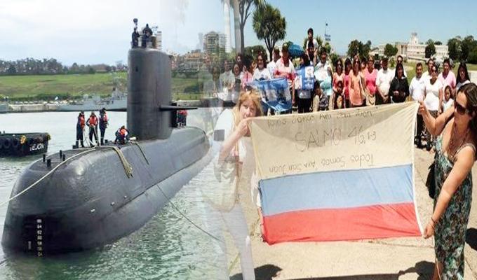 Argentina: familiares de tripulantes del ARA San Juan piden a Rusia no abandonar búsqueda