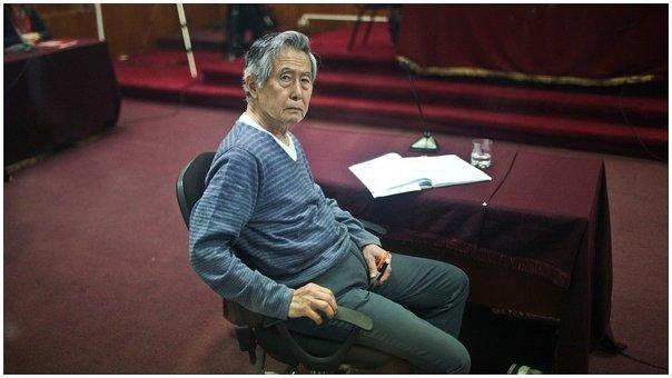 Indultado Alberto Fujimori presenta recurso para librarse del caso 'Pativilca'