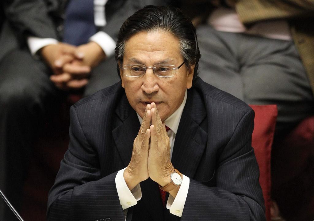 Poder Judicial ordena congelar cuentas de Alejandro Toledo