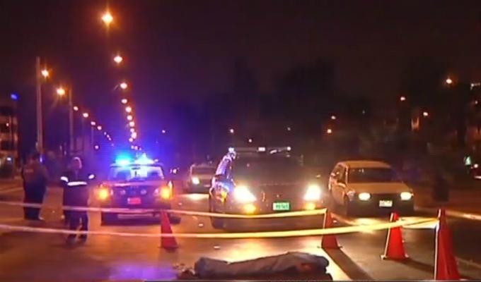 Los Olivos: accidente de tránsito deja un muerto y un herido