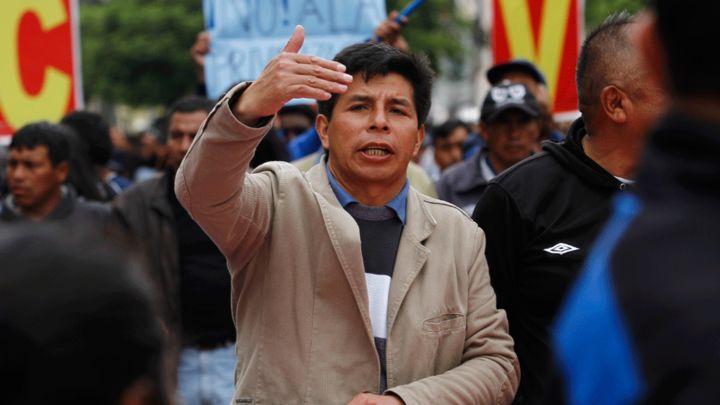 Dirigente Pedro Castillo anuncia  nueva huelga nacional indefinida de docentes