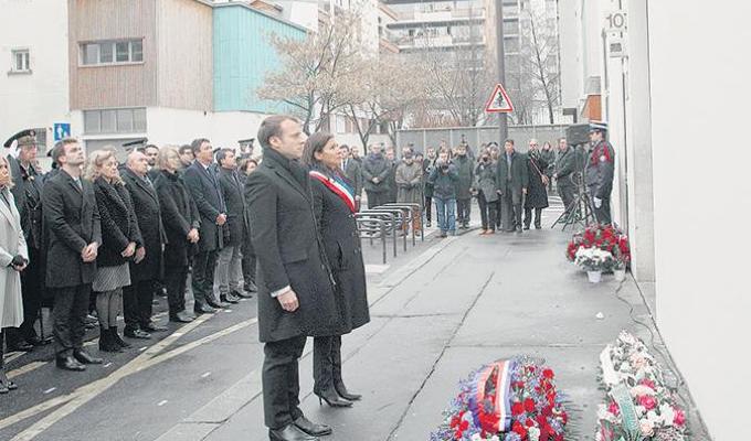 """Francia: conmemoran tercer aniversario del atentado a revista """"Charlie Hebdo"""""""