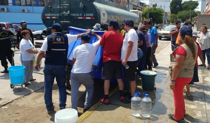 Sedapal aseguró tener un plan de contingencia en caso de desastres