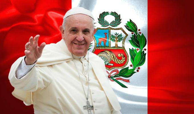 Perú espera con mucha expectativa la llegada del Papa Francisco