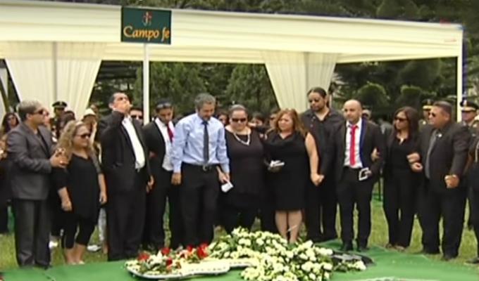 Gran Teatro Nacional: rinden emotivo homenaje a compositor antes de enterrar sus restos