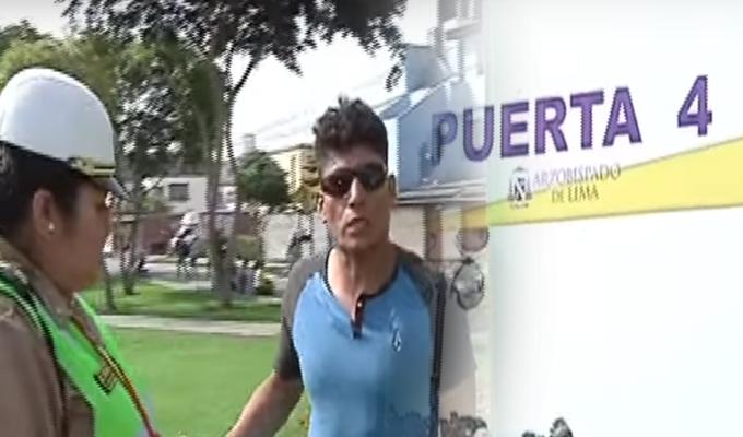 Durante misa en Las Palmas, sujeto es acusado de tocamientos indebidos