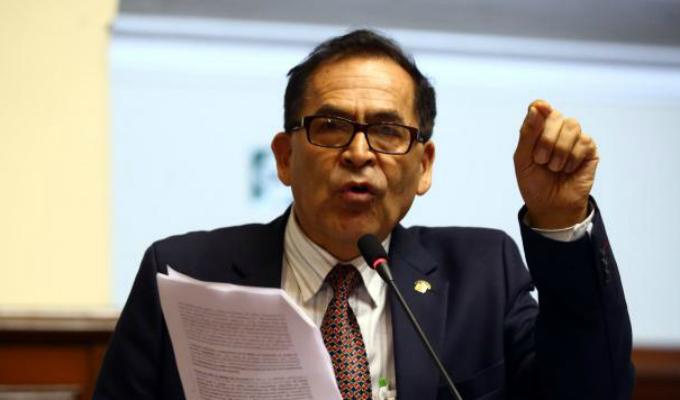 Alberto Quintanilla asegura que FP busca controlar los medios mediante el proyecto de Mulder