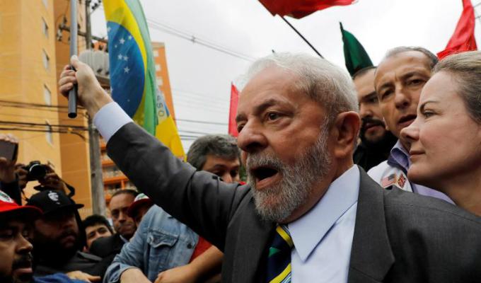 Izquierda de la región cierra filas en favor de Lula da Silva