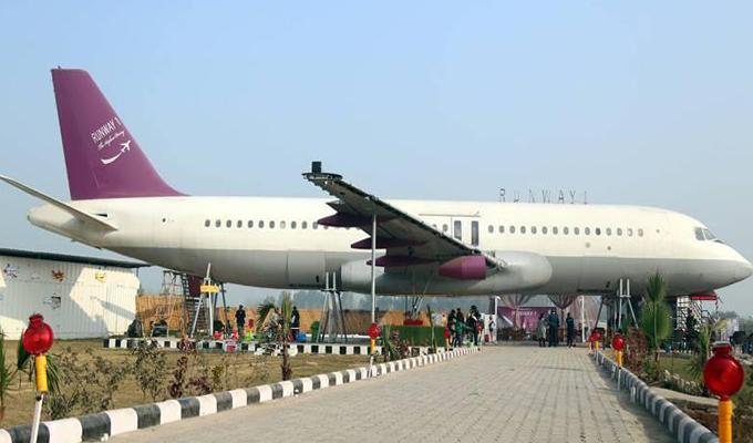 India: avión Airbus  es convertido en lujosos restaurante