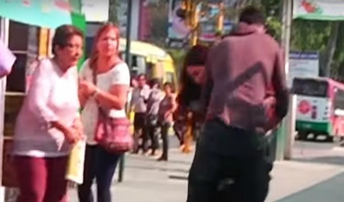 Violencia: ¿qué hacer si una pareja pelea en la calle?