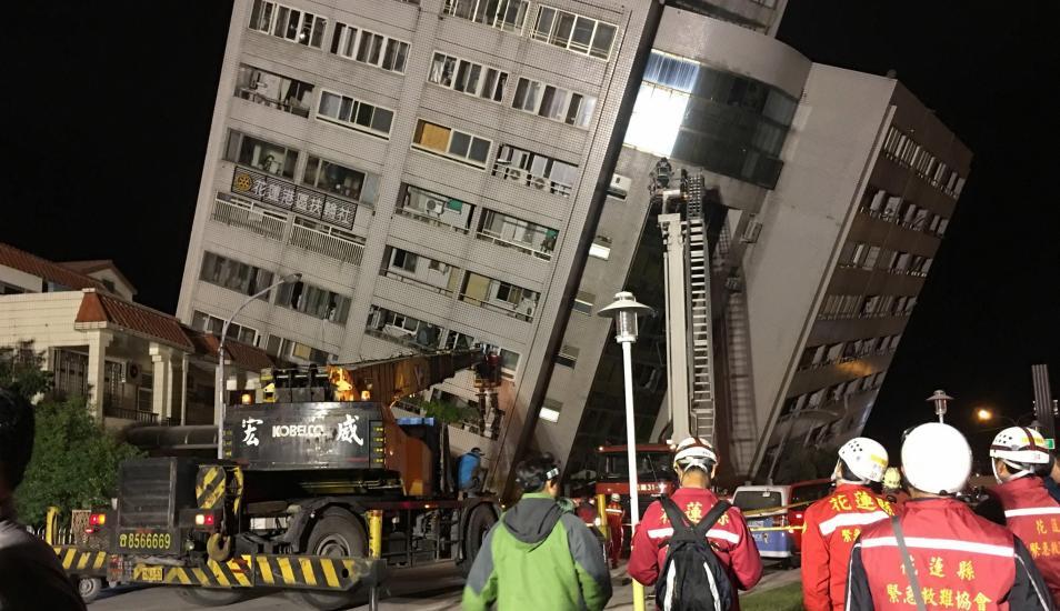 Taiwán: dos muertos y más de 200 heridos deja terremoto de 6.4 de magnitud