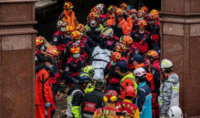 Taiwán: se eleva a 12 la cifra de muertos por terremoto