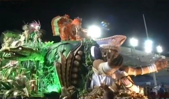 Brasil: empezó el famoso carnaval de Río de Janeiro