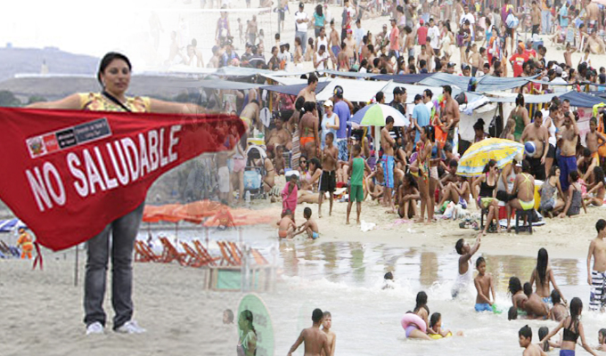 Sepa cuáles son las playas no aptas para bañistas en la capital